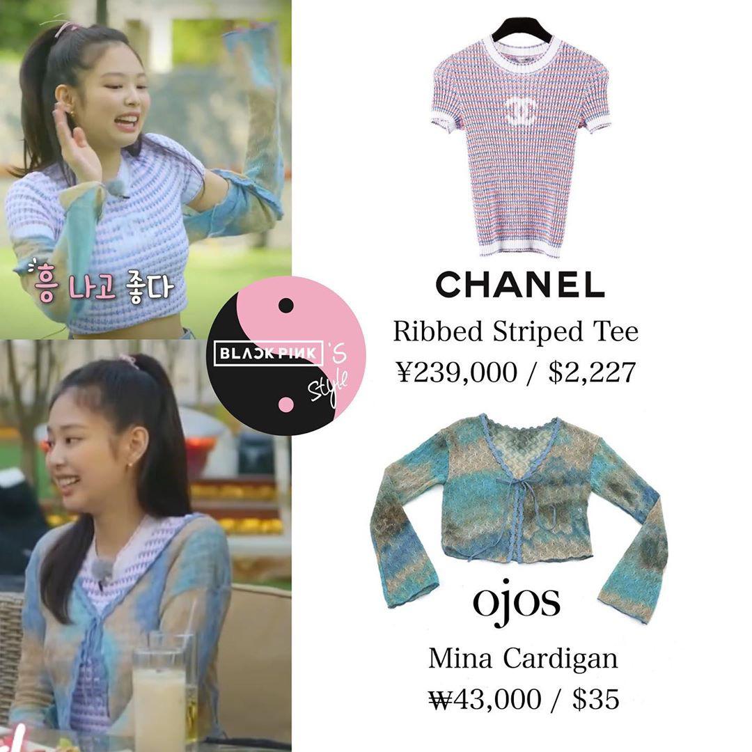 Bất ngờ chưa: Cùng diện áo bình dân, Jennie mix đồ kín bưng thua đẹp đàn chị Taeyeon ở khoản sexy - Ảnh 4.
