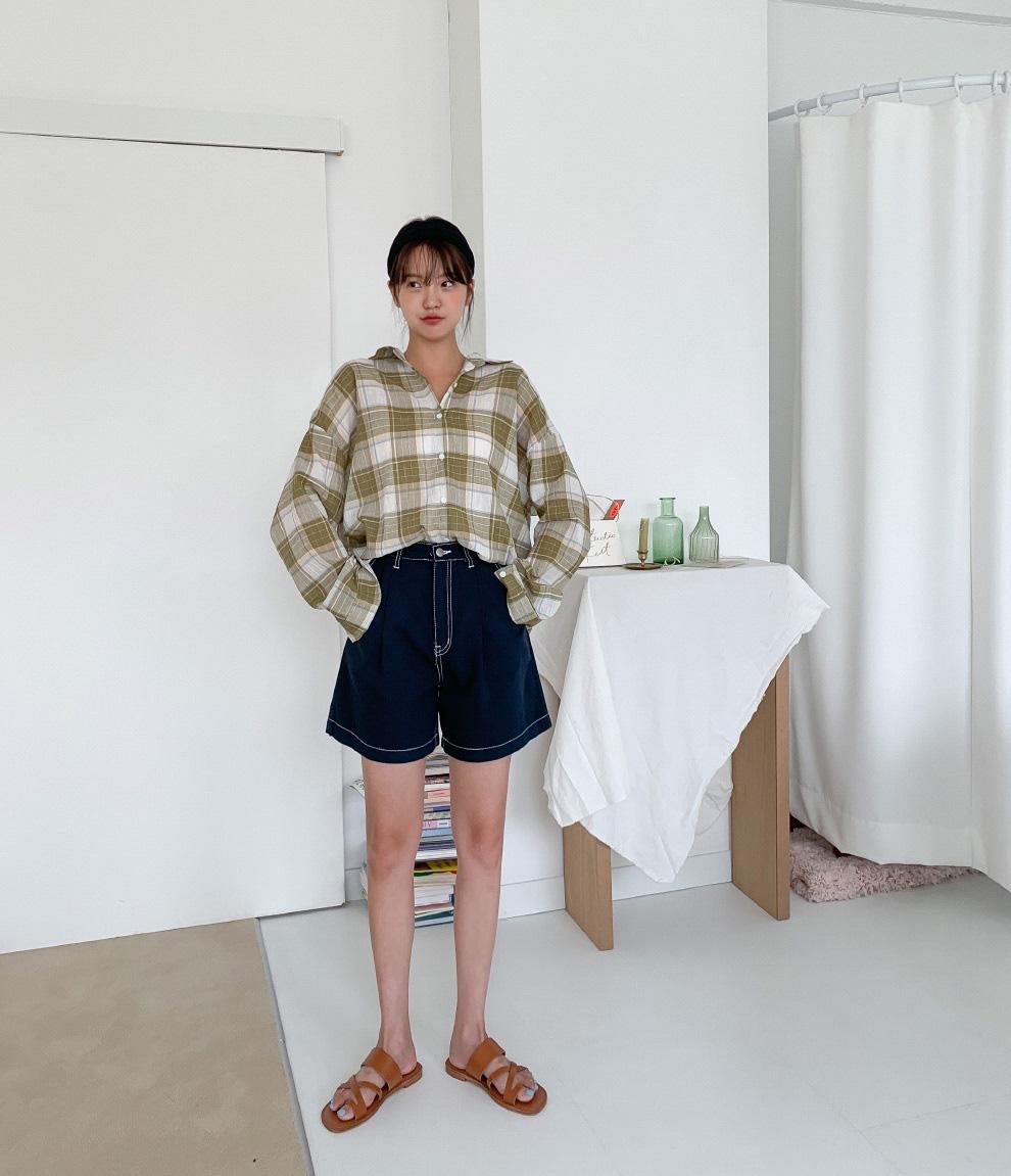 Hot bậc nhất hè này là quần shorts ống rộng và đây là 4 cách diện vừa sành điệu vừa hack dáng hết cỡ - Ảnh 4.
