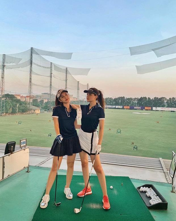 Không hẹn mà gặp hội mỹ nhân Việt đều check-in ở sân golf: 1 buổi chơi golf có lợi ích bằng 1 tuần tập thể dục nên bảo sao không mê cho được - ảnh 5