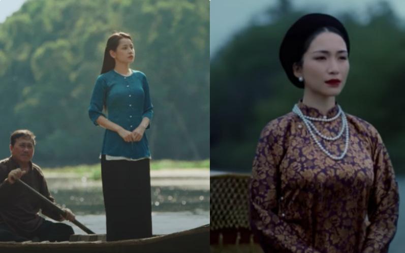 Cùng đứng trên thuyền trôi lênh đênh trên sông, MV mới của Chi Pu vừa ra mắt sao giống với MV #KTCNSK của Hoà Minzy thế này?