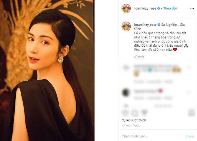 Hòa Minzy bất ngờ chia sẻ đầy ẩn ý sau khi có thông tin bạn trai cũ Công Phượng tổ chức lễ ăn hỏi - ảnh 1