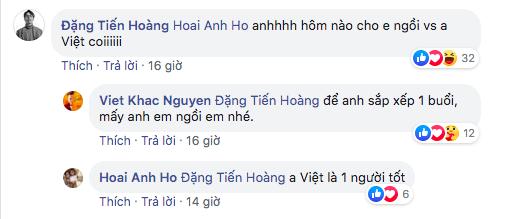 Khắc Việt lên tiếng cảm ơn công khai góp ý của ViruSs nhưng đáng chú ý hơn cả là bình luận của Hồ Hoài Anh - ảnh 3
