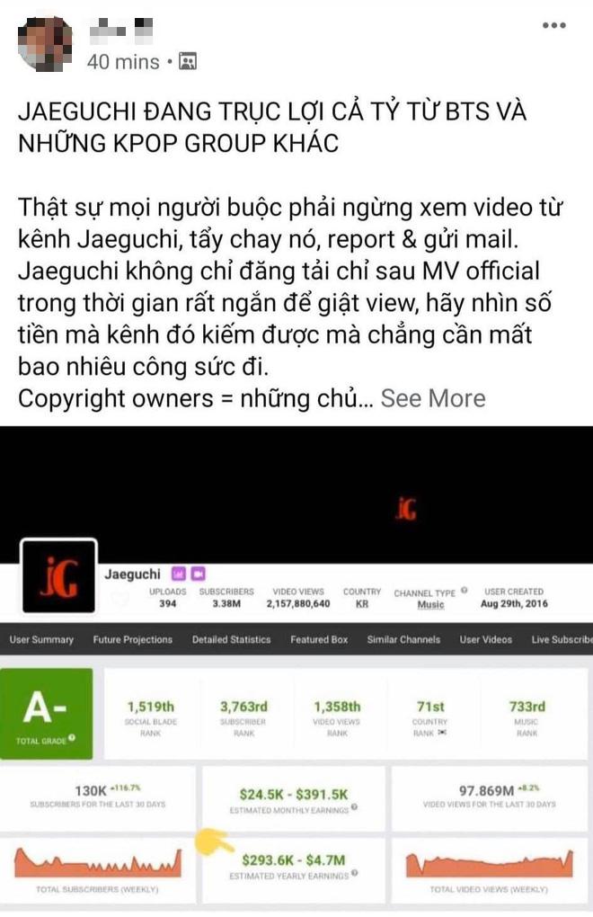 Netizen xôn xao chủ nhân kênh Youtube sở hữu loạt lyrics video trăm triệu view, bị nghi trục lợi cả tỷ đồng là người Việt Nam - ảnh 5