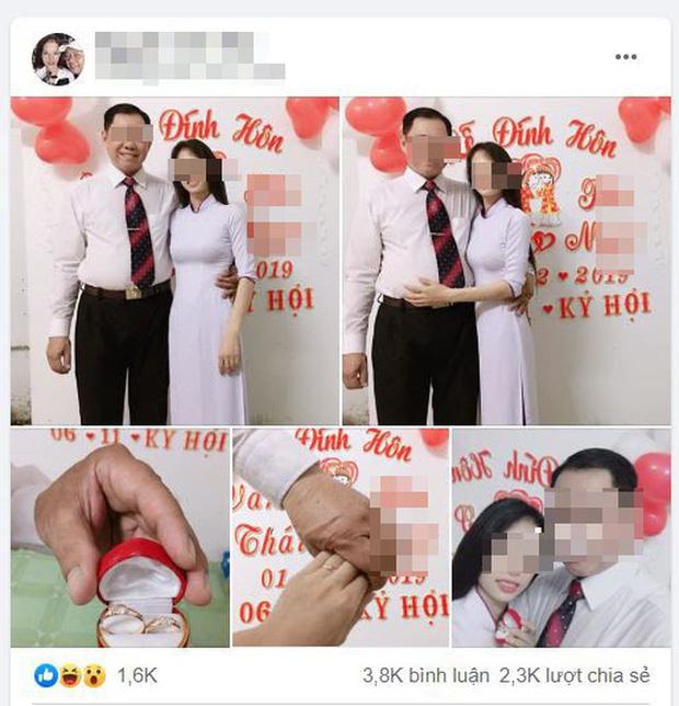 Thông tin mới nhất vụ thầy giáo 53 tuổi đang có vợ, đính hôn với học trò cũ 21 tuổi - ảnh 1