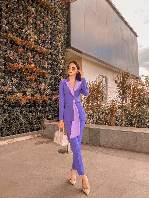 Sao Việt khi diện suit tím hot trend: Người đẹp tinh tế, người sến sẩm; nàng công sở xem cũng rút được khối kinh nghiệm - ảnh 6