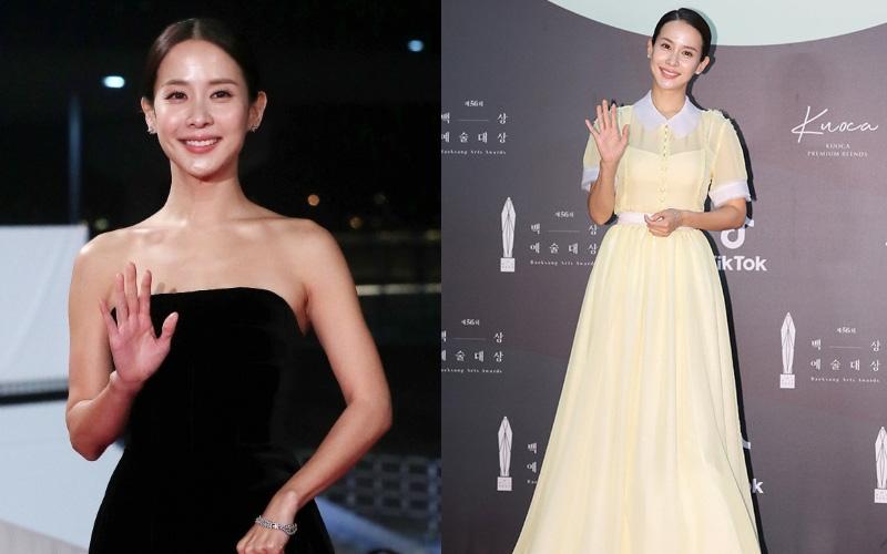 """Nữ hoàng cảnh nóng Ký Sinh Trùng bất ngờ gây thất vọng tràn trề với bộ váy """"chán đời"""" tại Baek Sang 2020"""
