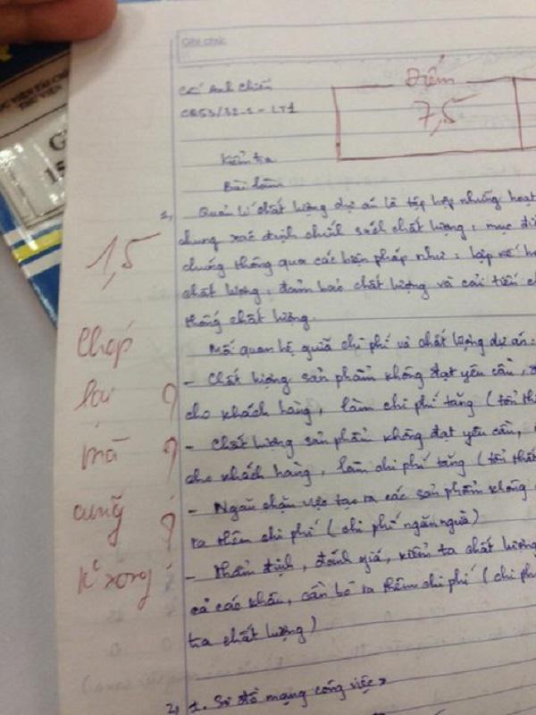 Những pha chọc ngoáy học sinh bằng lời phê cực chất của giáo viên: Thánh cà khịa là đây chứ đâu! - ảnh 2