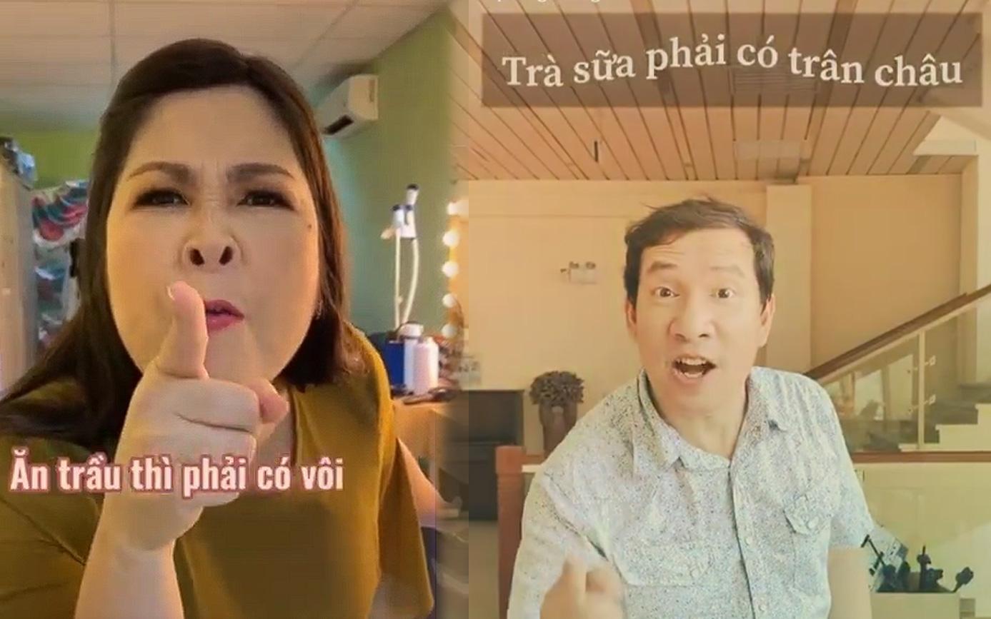 Sao Việt đua nhau đối thơ trên TikTok, cộng đồng nghe thôi mà