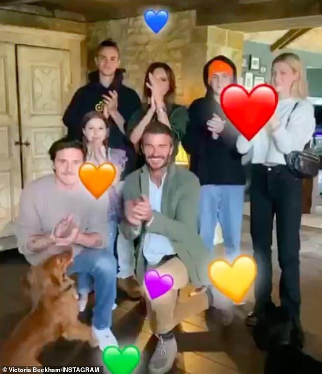 HOT: Brooklyn Beckham đã đính hôn với bạn gái thiên kim tiểu thư hơn 4 tuổi, vợ chồng Beckham nhiệt liệt chúc mừng - ảnh 5