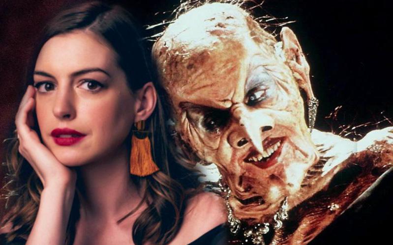 """Mỹ nhân khét tiếng Anne Hathaway """"lột xác"""" thành phù thuỷ tạo hình cực kinh dị"""