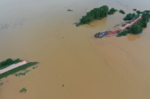 Trung Quốc nâng mức cảnh báo phòng lũ lụt lên nghiêm trọng - ảnh 1