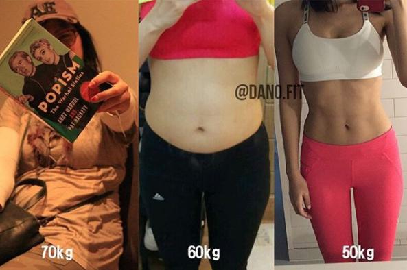 Từ 70kg xuống 50kg, cô gái Hàn chia sẻ 3 bí quyết giảm cân và 4 bài tập giúp thân dưới thanh mảnh - ảnh 1