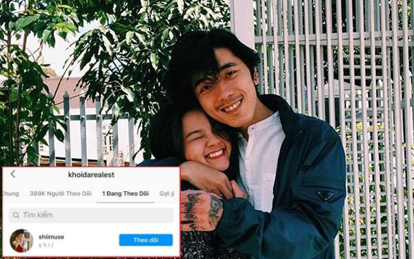 Rapper Khói follow duy nhất Mây: Con đường tình yêu trên Instagram dạo này nhộn nhịp quá!