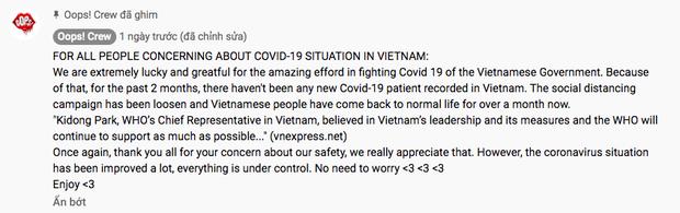 Bản dance cover hit BLACKPINK của nhóm nhảy Việt gần 2 triệu view, fan quốc tế ngơ ngác: Người Việt Nam không giãn cách xã hội à? - ảnh 2