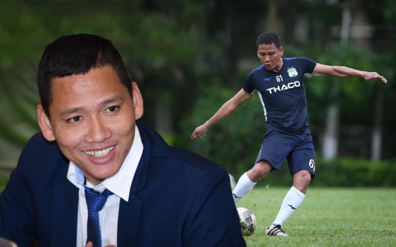 """Tiền đạo Nguyễn Anh Đức: Ông chú """"tỷ phú"""" đi đá bóng vì đam mê nhưng không phải chỉ để cho vui"""