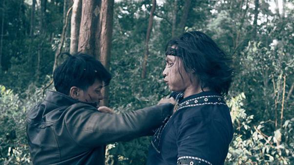 Mãn nhãn từng pha ra đòn khét lẹt ở phim hành động Đỉnh Mù Sương của soái ca phái Vịnh Xuân - ảnh 2