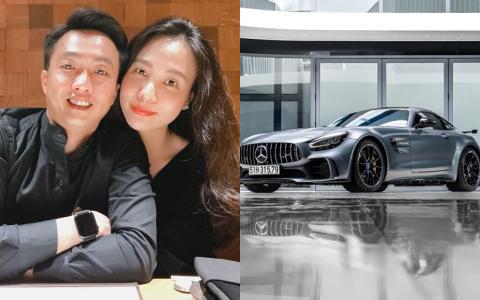 """Cường Đô La vừa tậu thêm """"con Mẹc"""" vào BTS xế khủng: Chồng mà chở vi vu trên siêu xe này, chắc Đàm Thu Trang thích lắm!"""
