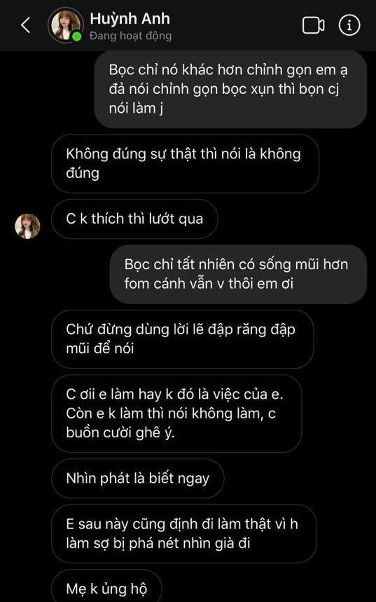 Huỳnh Anh đáp trả anti-fan về nghi vấn dao kéo: Mình thích thì làm đẹp cho mình thôi, nhưng phải qua 25 tuổi mới đi phẫu thuật thẩm mỹ - ảnh 7