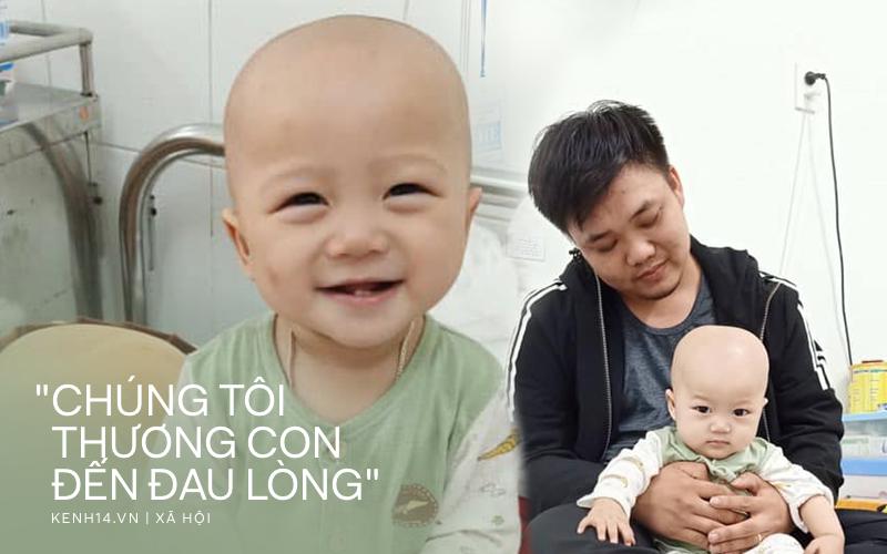 Em bé 14 tháng tuổi mang trong mình 2 loại ung thư: ''Chừng nào còn được nhìn thấy nụ cười của con, chúng tôi còn cố gắng''