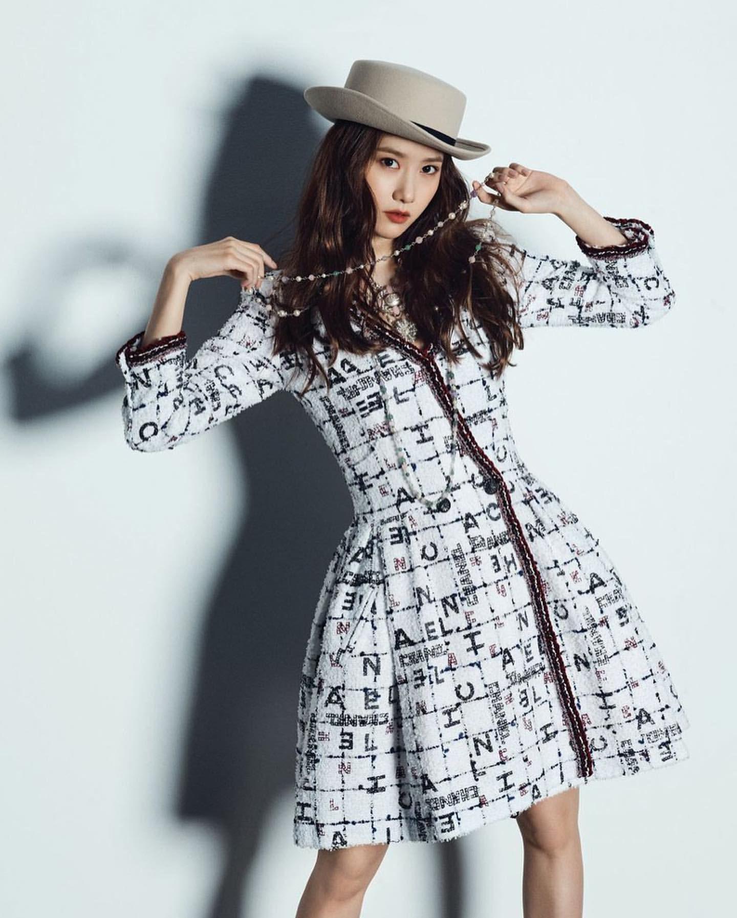 Cùng diện váy Chanel, Yoona đẹp hơn mẫu hãng còn Tống Thiến lại lên đồ theo cách chẳng ai ngờ - Ảnh 1.