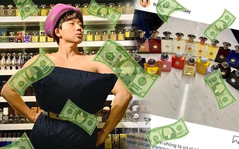 """Mặc bà xã """"cảnh cáo"""", Trấn Thành vẫn tậu 20 lọ nước hoa, giá khủng thế này chắc Hari Won giận tím người mất"""