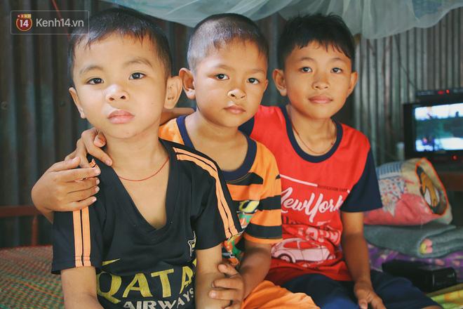 Xót cảnh 4 đứa trẻ mồ côi cha, không có tiền phải mang dép đứt quai, chắp vá đến trường sống cạnh bà nội già yếu - ảnh 10