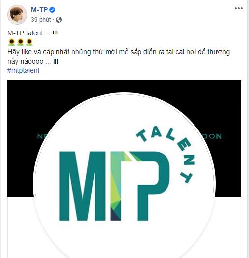 PHÁT SỐT: Sơn Tùng ra mắt M-TP Talent, từ ca sĩ, đến Chủ tịch và sắp tới là ông bầu Nguyễn Thanh Tùng đào tạo các nghệ sĩ mới? - Ảnh 5.