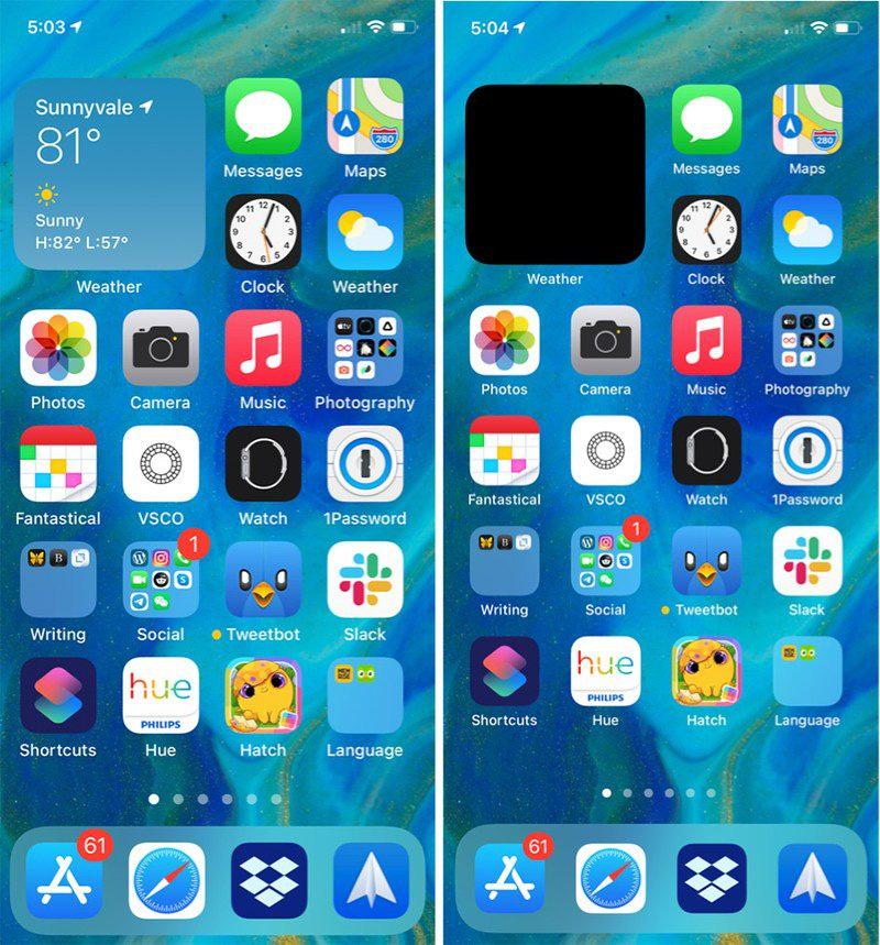 Display Zoom (Phóng to màn hình) cho iPhones 5,8 inch