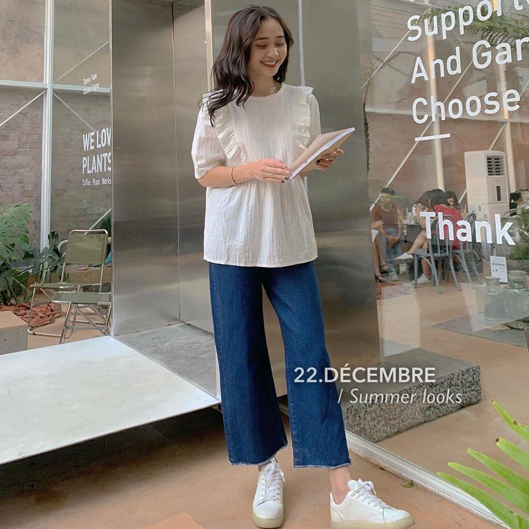 """Áo blouse xếp bèo thấy """"bánh bèo"""" nhưng diện lên rất xinh, 10 item giá """"mềm"""" chỉ từ 220k sẽ khiến bạn khó kìm lòng - Ảnh 15."""
