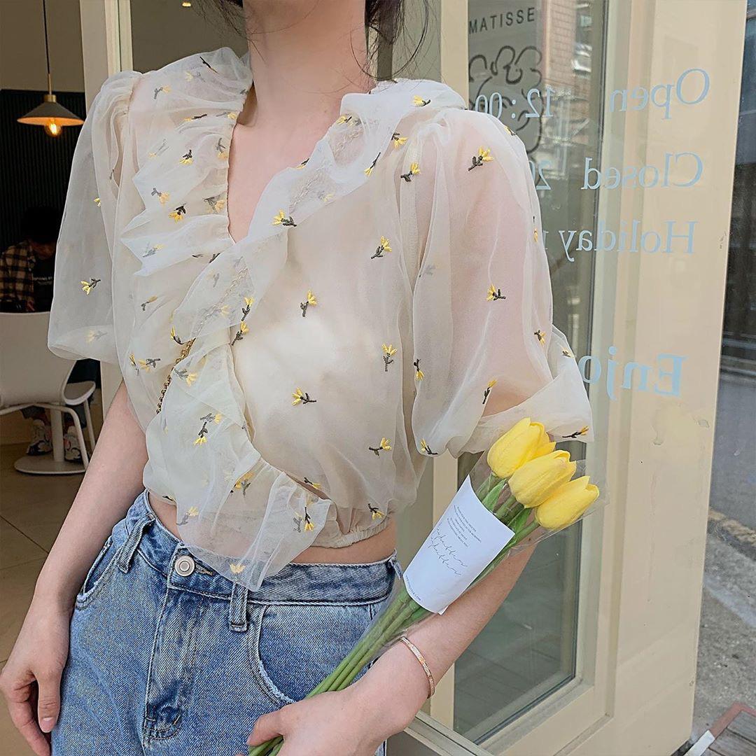 """Áo blouse xếp bèo thấy """"bánh bèo"""" nhưng diện lên rất xinh, 10 item giá """"mềm"""" chỉ từ 220k sẽ khiến bạn khó kìm lòng - Ảnh 17."""