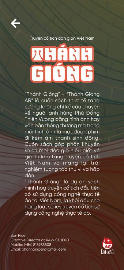 Truyện tranh Thánh Gióng ứng dụng công nghệ thực tế ảo của sinh viên Việt gây sốt cộng đồng mạng - ảnh 5