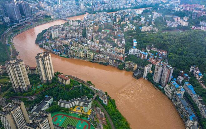 Hình ảnh lũ lụt nghiêm trọng nhấn chìm nhiều địa phương ở Trung Quốc, gây thiệt hại lên đến hàng ngàn tỷ đồng