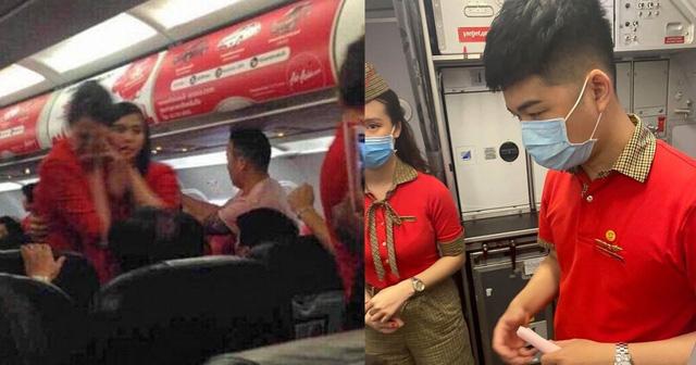 Nữ hành khách ném điện thoại vào tiếp viên hàng không bị cấm bay - ảnh 1