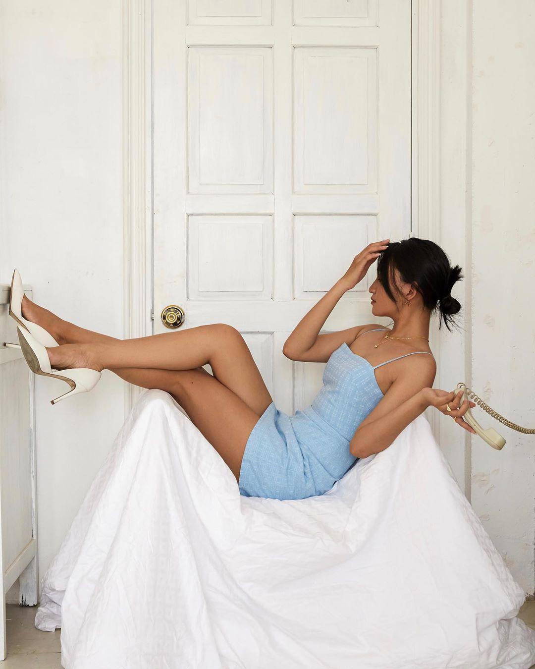 Hội idol từ Hàn đến Việt đều sexy hết nút nhờ váy hai dây, có kén dáng khó nhằn thì dân tình vẫn muốn đu theo - Ảnh 13.