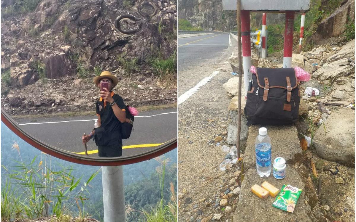 """Thanh niên gây sốc khi đi bộ từ Nha Trang đến Đà Lạt trong 4 ngày, bị nhiều người cho là """"điên rồ"""" nhưng vì crush mà bất chấp"""