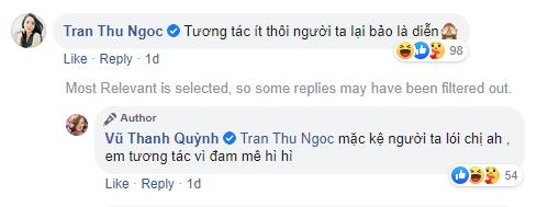 Vũ Thanh Quỳnh liên tục tương tác với Alan Phạm hậu xác nhận làm bạn, Thu Ngọc (Mây Trắng) liền vào nhắc khéo - ảnh 3