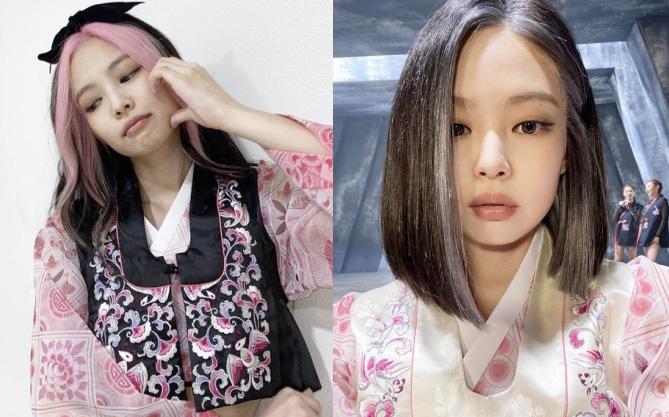 """Jennie gây sốt với bài đăng đầu tiên chào fan Trung, hot nhất mái tóc chuẩn """"BLACKPINK"""" cùng má bánh bao siêu """"cute"""""""