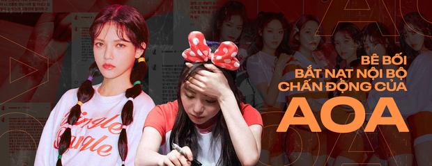 """AOA toàn phốt căng: Seolhyun bị """"tóm sống"""" ảnh hẹn hò phản cảm, Jimin dính bê bối bắt nạt, Mina cũng không thoát scandal - ảnh 15"""