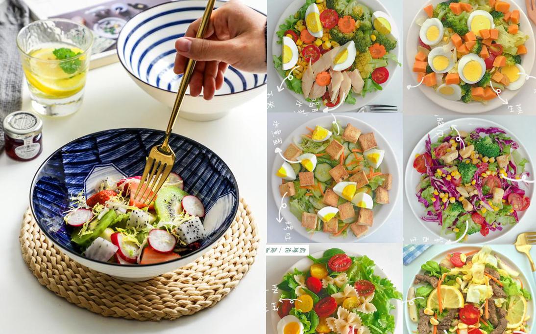 """Gợi ý thực đơn salad 6 ngày cho các """"nàng lười"""", vừa ngon vừa chế biến cực nhanh chỉ trong 5 phút"""