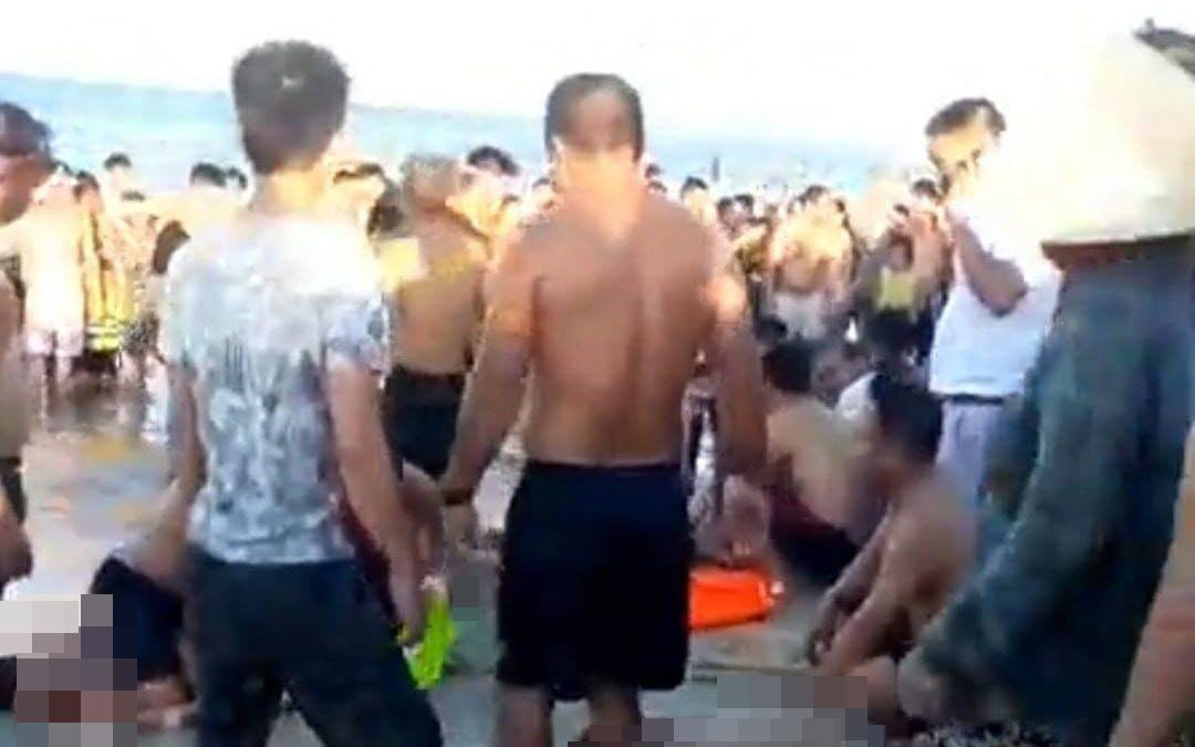 3 thanh niên chết đuối thương tâm khi tắm biển ở Quảng Nam