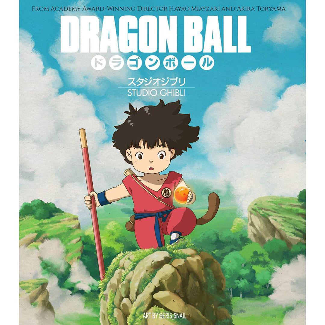 Dân mạng nhũn tim với Goku bé siêu cưng trên poster Bảy Viên Ngọc Rồng của Ghibli nhưng không hay biết mình vừa bị lừa? - Ảnh 5.