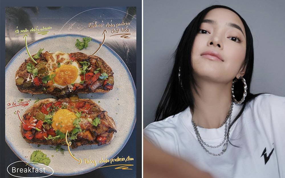 Bây giờ ai mà yêu Châu Bùi thì tha hồ sướng nhé vì có người yêu nấu ăn cực đỉnh: vừa ngon, vừa đẹp lại vừa healthy