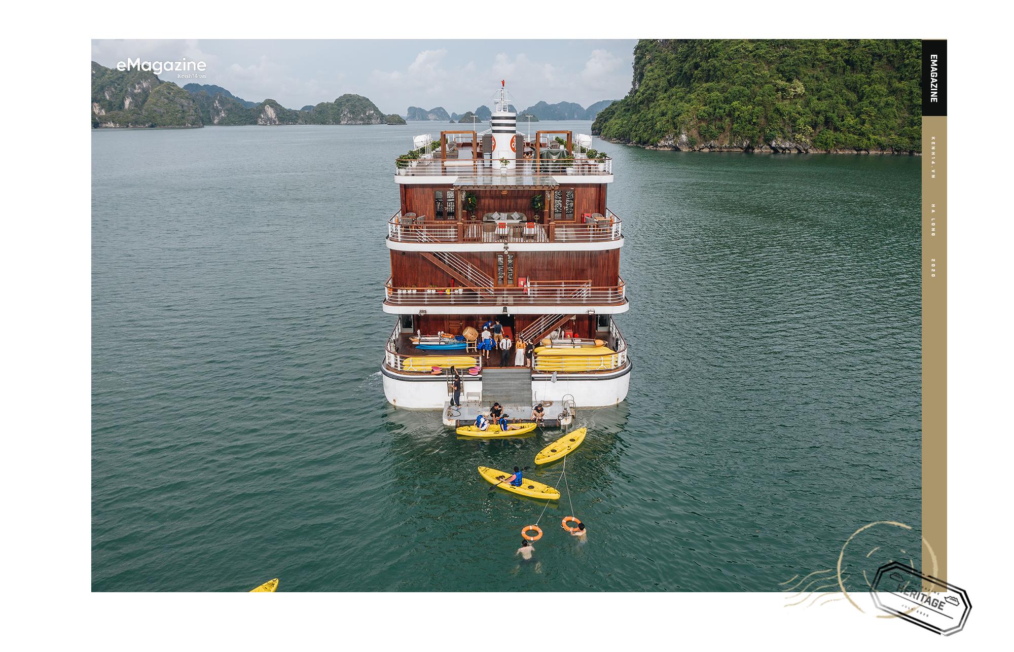 Trải nghiệm vịnh Lan Hạ đẹp như thơ trên du thuyền 5 sao để nhận ra: Đi du lịch ở Việt Nam có thể đẳng cấp chẳng kém chỗ nào! - Ảnh 6.