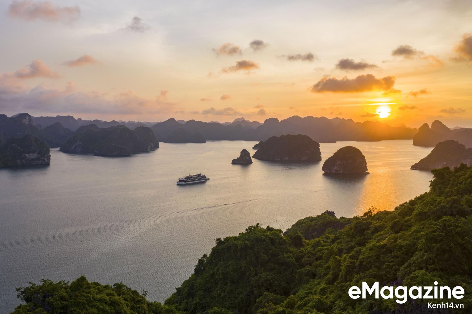 Trải nghiệm vịnh Lan Hạ đẹp như thơ trên du thuyền 5 sao để nhận ra: Đi du lịch ở Việt Nam có thể đẳng cấp chẳng kém chỗ nào! - Ảnh 3.