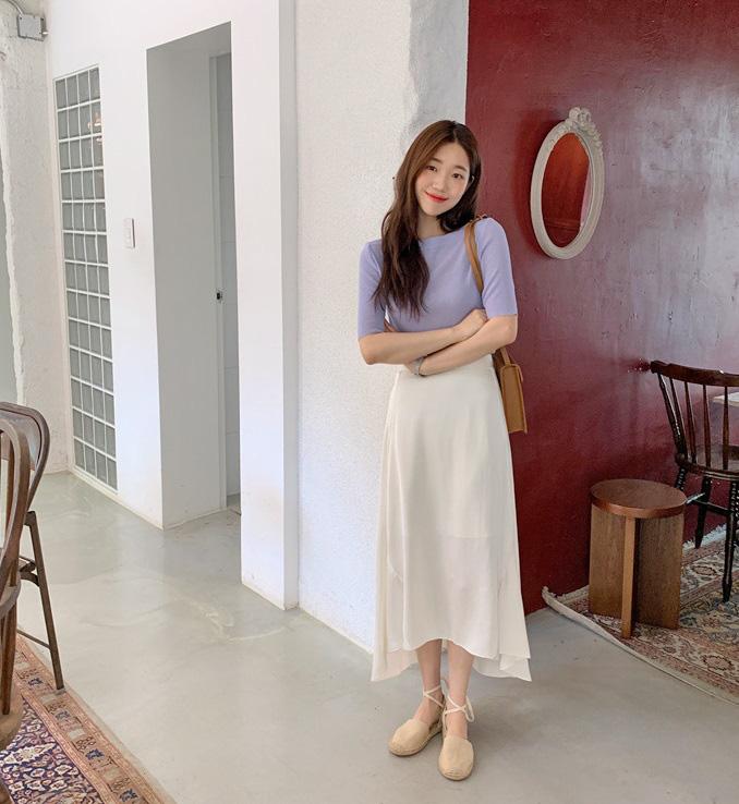 Kỳ diệu chưa: 4 mẫu chân váy sau sẽ giúp bạn cao ráo hơn ít nhất 5cm, có khi còn kéo chân dài miên man - Ảnh 12.