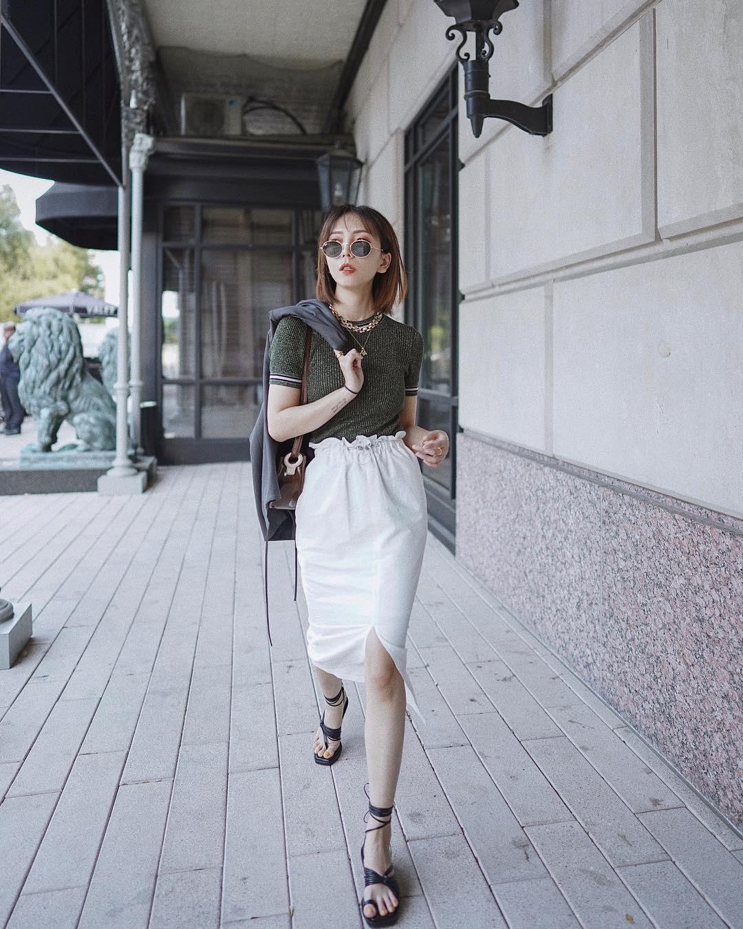 Kỳ diệu chưa: 4 mẫu chân váy sau sẽ giúp bạn cao ráo hơn ít nhất 5cm, có khi còn kéo chân dài miên man - Ảnh 3.