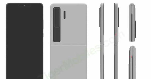 Huawei đáp trả Samsung với smartphone màn hình gập vỏ sò giống Galaxy Z Flip - ảnh 1