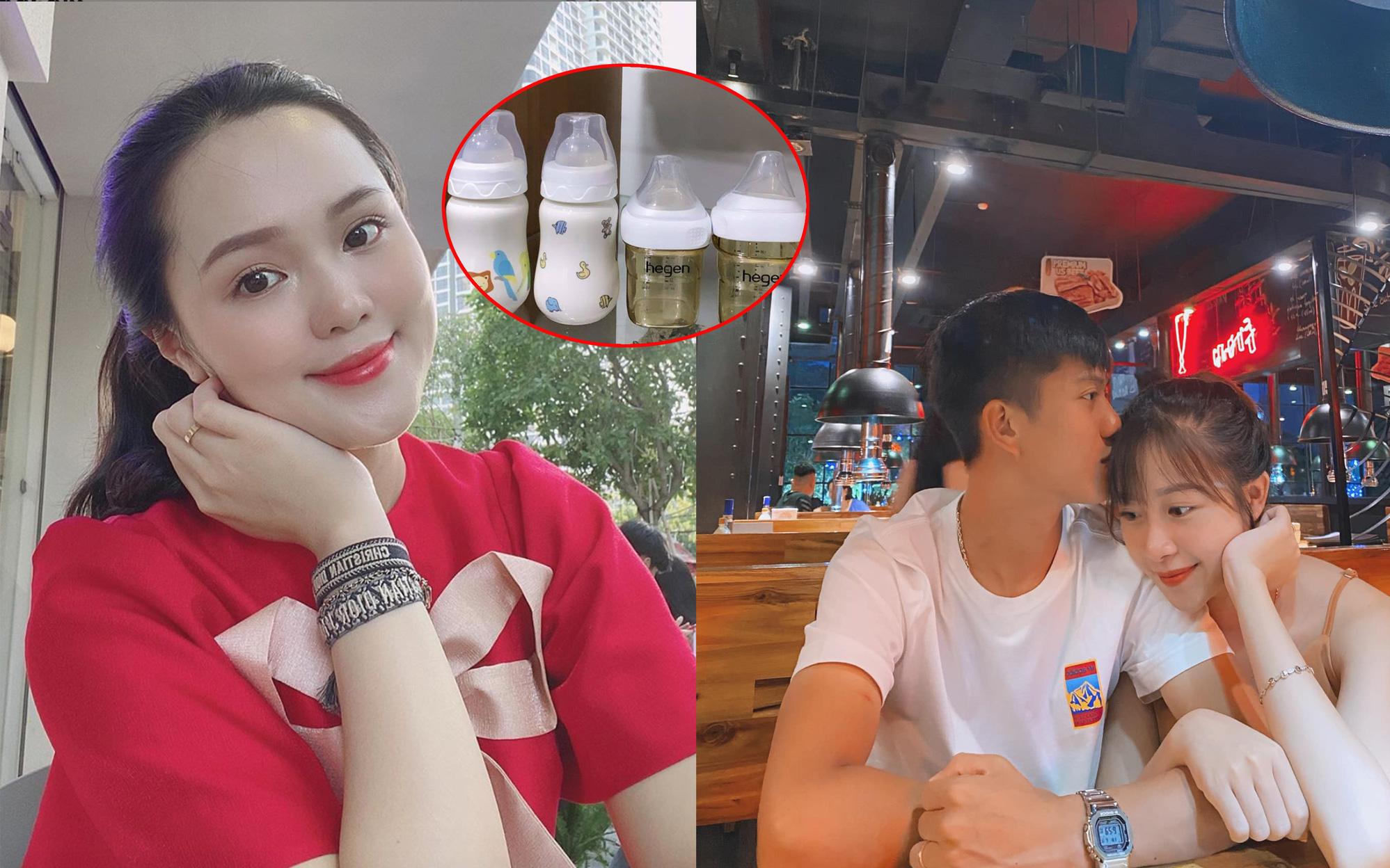 Quỳnh Anh (vợ Duy Mạnh) khoe quà xinh mới sắm cho con sắp chào đời, Nhật Linh hỏi khó Văn Đức về tình yêu