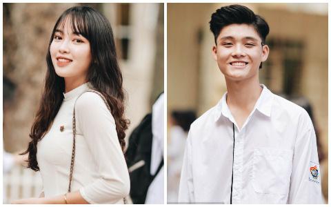 Dàn cực phẩm trai xinh gái đẹp Việt Đức (Hà Nội) nổi bần bật, chiếm spotlight ngày bế giảng