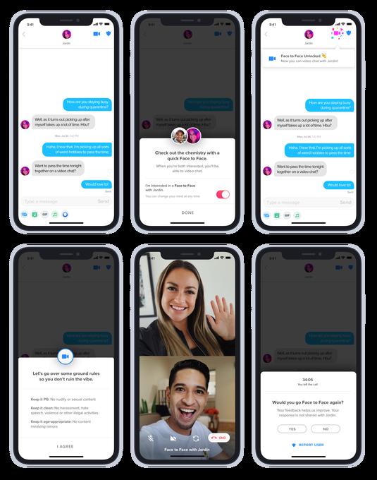 Tinder thử nghiệm tính năng Face to Face, quẹt phải và gọi video trò chuyện 1:1 cùng đối phương - ảnh 2